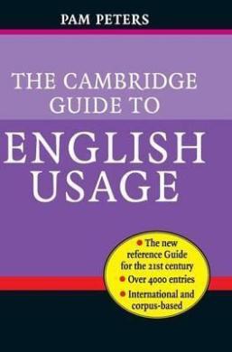 The Cambridge Guide to English Usage - фото книги