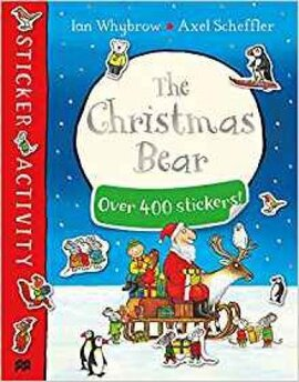 The Christmas Bear. Sticker Book - фото книги