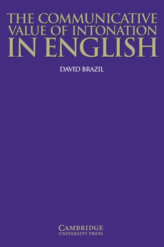Книга The Communicative Value of Intonation in English Book