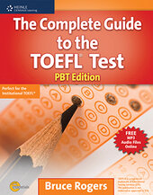 The Complete Guide to the TOEFL Test: PBT Edition (Exam Essentials) - фото обкладинки книги