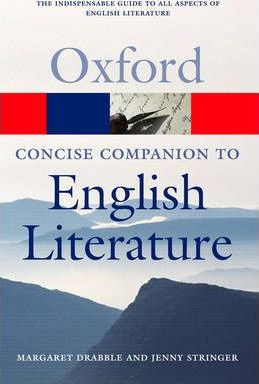 The Concise Oxford Companion to English Literature - фото книги
