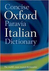 The Concise Oxford-Paravia Italian Dictionary - фото обкладинки книги