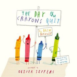 The Day The Crayons Quit - фото книги