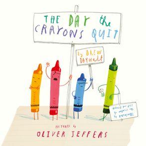 Книга The Day The Crayons Quit