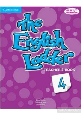 Книга для вчителя The English Ladder Level 4 Teacher's Book