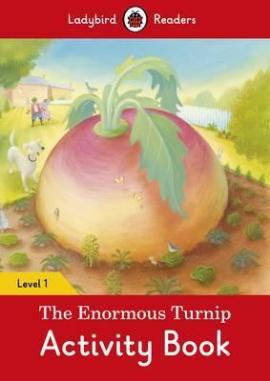 The Enormous Turnip Activity Book - Ladybird Readers Level 1 - фото книги