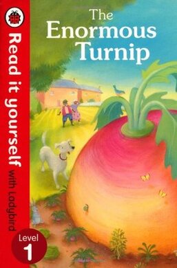 The Enormous Turnip: Read it yourself with Ladybird : Level 1 - фото книги