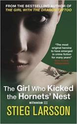 The Girl Who Kicked the Hornets' Nest - фото обкладинки книги