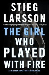 The Girl Who Played With Fire - фото обкладинки книги