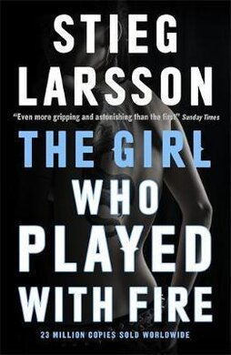 The Girl Who Played With Fire - фото книги
