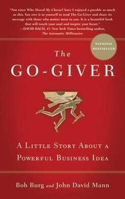 The Go-Giver. A Little Story About a Powerful Business Idea - фото книги