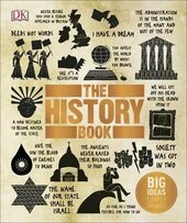 The History Book : Big Ideas Simply Explained - фото обкладинки книги