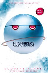 The Hitchhiker's Guide to the Galaxy Omnibus: A Trilogy in Five Parts - фото обкладинки книги