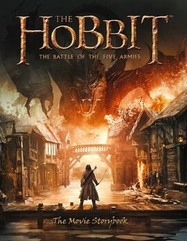 The Hobbit : The Battle of the Five Armies - Movie Storybook - фото книги
