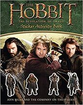 The Hobbit : The Desolation Of Smaug - Sticker Activity Book - фото обкладинки книги