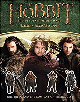 The Hobbit : The Desolation Of Smaug - Sticker Activity Book - фото книги