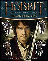 The Hobbit : The Desolation of Smaug - Ultimate Sticker Book - фото обкладинки книги