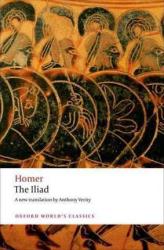 The Iliad - фото обкладинки книги
