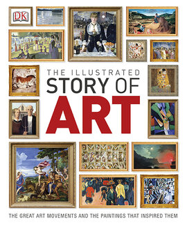 The Illustrated Story of Art: The Great Art Movements and the Paintings that Inspired them - фото книги