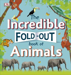 The Incredible Fold-Out Book of Animals - фото книги