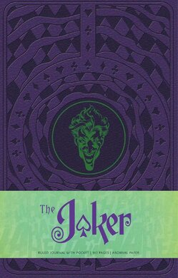 The Joker Hardcover Ruled Journal - фото книги