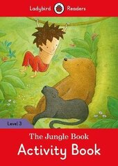 The Jungle Book Activity Book - Ladybird Readers Level 3 - фото обкладинки книги