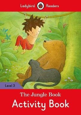 The Jungle Book Activity Book - Ladybird Readers Level 3 - фото книги