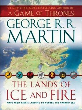 The Lands of Ice and Fire. Wall maps - фото книги
