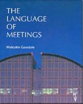 The Language of Meetings - фото обкладинки книги