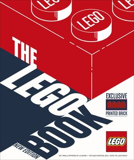 The LEGO Book New Edition : with exclusive LEGO brick - фото книги