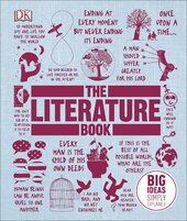 The Literature Book: Big Ideas Simply Explained - фото обкладинки книги