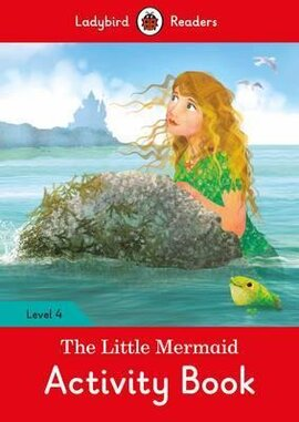The Little Mermaid Activity Book - Ladybird Readers Level 4 - фото книги