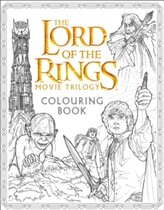 Книга The Lord of the Rings Movie Trilogy Colouring Book