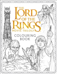The Lord of the Rings Movie Trilogy Colouring Book - фото книги