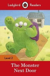The Monster Next Door - Ladybird Readers Level 2 - фото обкладинки книги