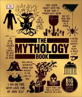 The Mythology Book : Big Ideas Simply Explained - фото книги