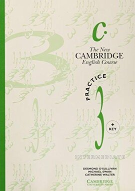 The New Cambridge English Course 3 Practice book with key - фото книги