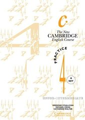 The New Cambridge English Course 4 Practice book with key - фото обкладинки книги