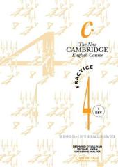 The New Cambridge English Course 4 Practice book with key - фото обкладинки книги