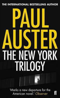 The New York Trilogy - фото книги