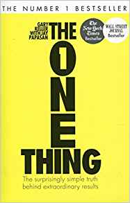 The One Thing: The Surprisingly Simple Truth Behind Extraordinary Results - фото книги