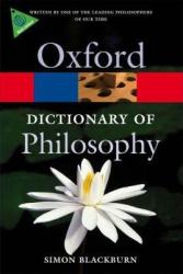 The Oxford Dictionary of Philosophy - фото обкладинки книги