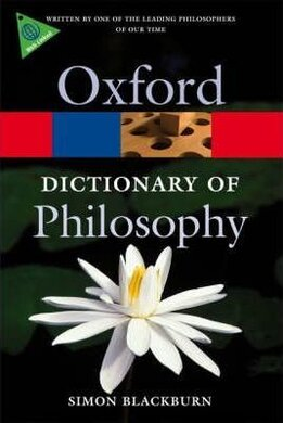 The Oxford Dictionary of Philosophy - фото книги