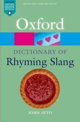 The Oxford Dictionary of Rhyming Slang - фото обкладинки книги