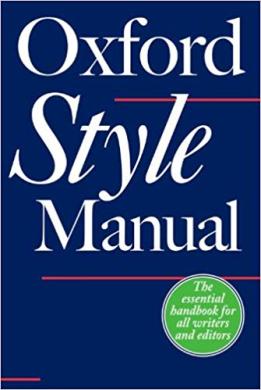 The Oxford Style Manual - фото книги