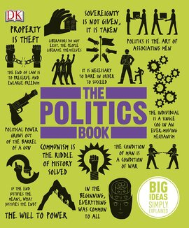 The Politics Book: Big Ideas Simply Explained - фото книги