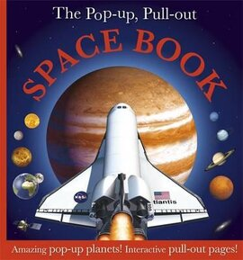 The Pop-up, Pull-out Space Book : Amazing Pop-Up Planets! Interactive Pull-Out Pages! - фото книги