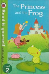 The Princess and the Frog - Read it yourself with Ladybird : Level 2 - фото обкладинки книги