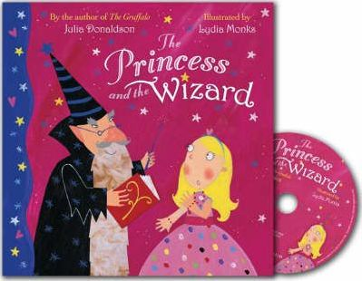 Книга The Princess and the Wizard Book and CD Pack