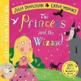 The Princess and the Wizard: Book and CD Pack - фото книги